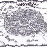 Witch Hunter artwork - map of Sevenpeaks